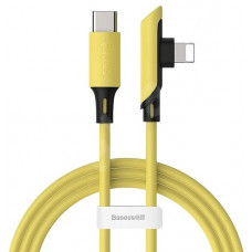 Кабель Baseus Colourful Elbow Type-C to iP Cable PD 18W 1.2m Yellow