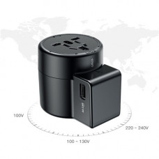 Сетевая зарядка Baseus Rotation Type Universal Charger Black
