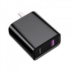 Сетевая зарядка Baseus fast-speed Huawei super quick charger 22.5W (CN)black
