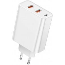 Сетевая зарядка Baseus PPS three output quick charger(C+U+U)60W EU White