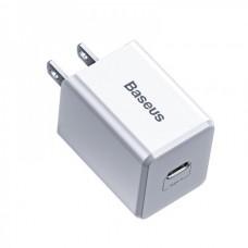 Сетевая зарядка Baseus Traveler Series PD(Type-C Interface)Charger 18W(US)White