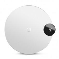Беспроводное зарядное устройство Baseus Digtal LED Display Wireless Charger White