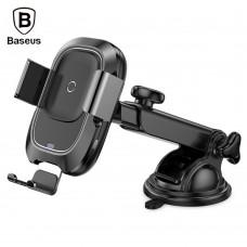 Беспроводное зарядное устройство Baseus Smart Vehicle Bracket Wireless Charger(Sucker style)