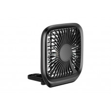 Складной Вентилятор Baseus Foldable Vehicle-mounted Backseat Fan Black