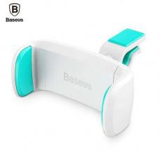 Автомобильный держатель для телефона в дефлектор Baseus Stable Series Car Mount  Aqua