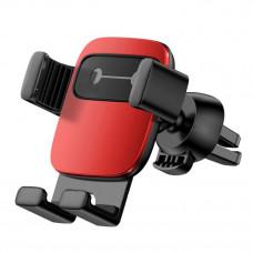 Автомобильный держатель Baseus Cube Gravity Vehicle-mounted Holder Red