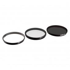 PolarPro Набор фильтров на DJI X5/X5R/X5S (ND8, UV, CP)  (P6001)