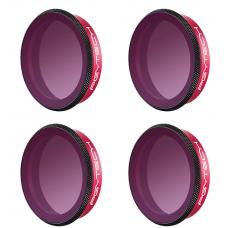 Набор фильтров  Professional (ND8PL, ND16PL, ND32PL, ND64PL) для камеры DJI OSMO Action  , PGYTECH P-11B-020