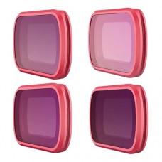 Набор фильтров Professional (ND8, ND16, ND32, ND64) для DJI OSMO Pocket, PGYTECH P-18C-013
