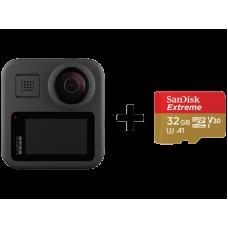 GoPro MAX + SanDisk Extreme 32gb (CHDHZ-201-RW)