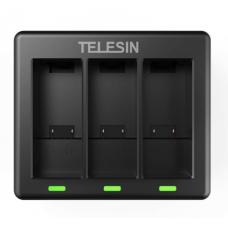 Зарядный хаб Telesin Triple Battery charger GoPro Hero 9 GP-BCG-902