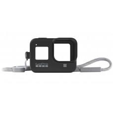 Силиконовый чехол с ремешком для камеры GoPro HERO8 (Sleeve + Lanyard) AJSST-001