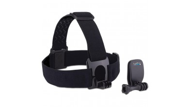 Крепление на голову + крепление-клипса на одежду GoPro Headstrap + QuickClip (ACHOM-001)