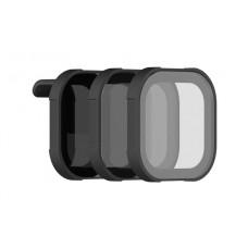 Набор фильтров для Hero 8 - Shutter Collection (ND8, ND16, ND32), PolarPro H8-SHUTTER
