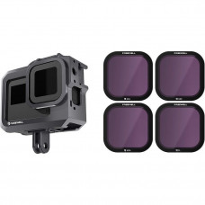 Набор фильтров Freewell для Gopro Hero 8 Standard Day 4 pack + защитный кейс FW-H8B-STD