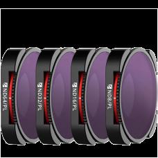 Набор фильтров Freewell для Gopro Hero 9 Bright Day 4K Series FW-H9B-BRG