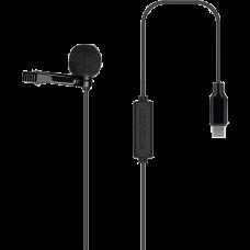 Микрофон петличный CoMica CVM-V01SP-UC Type-C 6м