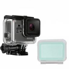 Бокс для камер Hero 5 прозрачный  с дополнительной крышкой, Redline RL499