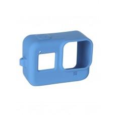 Чехол силиконовый синий для камер Hero 8, Redline RL555