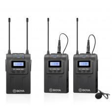 Boya BY-WM8 Pro-K2 микрофонная система беспроводная (два Передатчик TX8 + Приёмник RX8)
