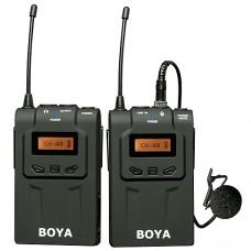 Boya BY-WM6 беспроводной микрофон петличка (радиосистема)