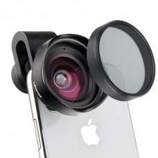 Объектив для смартфона Ulanzi 16mm Wide Angel, CPL Filter