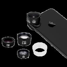 Набор объективов для смарфтона Momax X-Lens Pro Kit Черный
