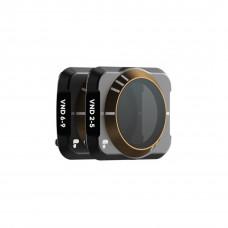 Нейтральные регулируемые фильтры PolarPro VND/2-5 и 6-9 Stop Cinema для DJI Mavic Air 2 AR2-CMBO-VND