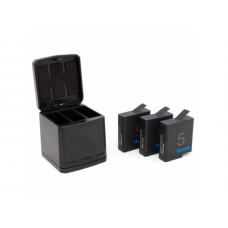 Аренда Зарядное устройство на 3 аккумулятора Hero 5/6/7 Telesin
