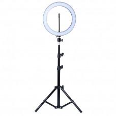 Кольцевая лампа на штативе 45см
